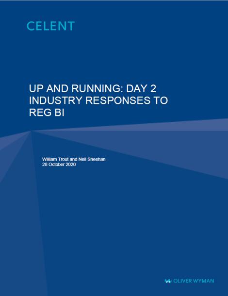 Front Page of Celent Report - Reg BI Day 2 v2